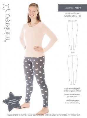 MiniKrea-70330-Leggings-Sewing-Pattern
